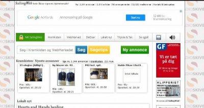 Sallingweb.dk januar 2015, nyt og annoncer fra Salling