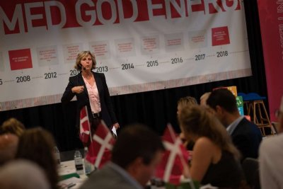 Ros til Skive fra Connie Hedegaard