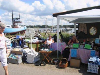 Kræmmermarked i Virksund i idylliske omgivelser