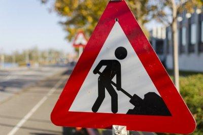 Spærring af Sølvvej i Thorum