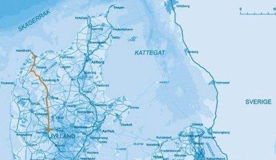 Thisted, Morsø, Skive og Herning Kommuner i fælles  indsats for udvidelse af A26/34