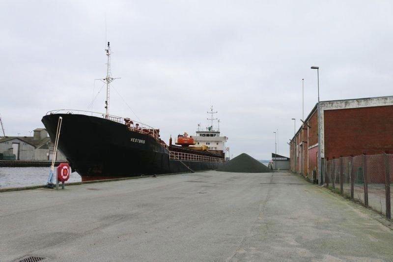 SELENE PRAHM ankommer til Skive Havn